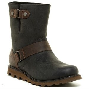Sorel Scotia Leather Moto Boots
